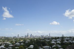 Photo of the view from level 5, 21 Lutwyche Apartments. Supplied by developer.