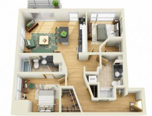 An Apartment With Good Feng Shui