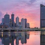 Brisbane CBD. Image from Brisbane Marketing
