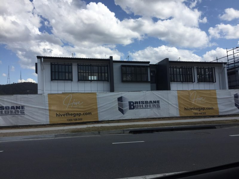 Construction update 08/10/18 Hive at the Gap (Photo By PropertyMash)