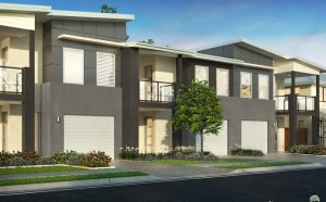 Creekside Townhouses Exterior