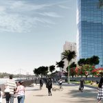 Proposed designs for the Eagle Street waterfront area (artist impressions)2