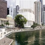 Proposed designs for the Eagle Street waterfront area (artist impressions)3