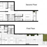 Floor Plans for Townhouse #8 at Everton Peak