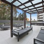 Forest Edge Outdoor Lounge (image supplied by the developer)