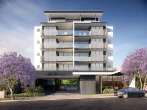 Hallmarque Apartments Chermside exterior view