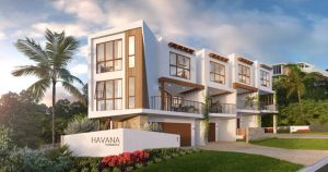 Havana Terraces is a boutique townhouse development consisting of four three-storey townhouses. The Spanish-influenced townhouses are located in Tugun