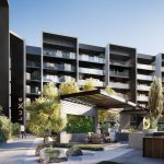 Luxe apartments and townhouses internal gardens