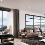 Luxe apartments and townhouses living area
