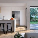 Lyra Hope Island Kitchen (render supplied by McGrath Projects QLD)