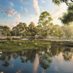 Waterlea at Walloon Artist's Impression of Communal Park Area