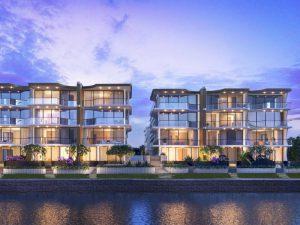ONE Bulimba Riverfront Apartments Brisbane River
