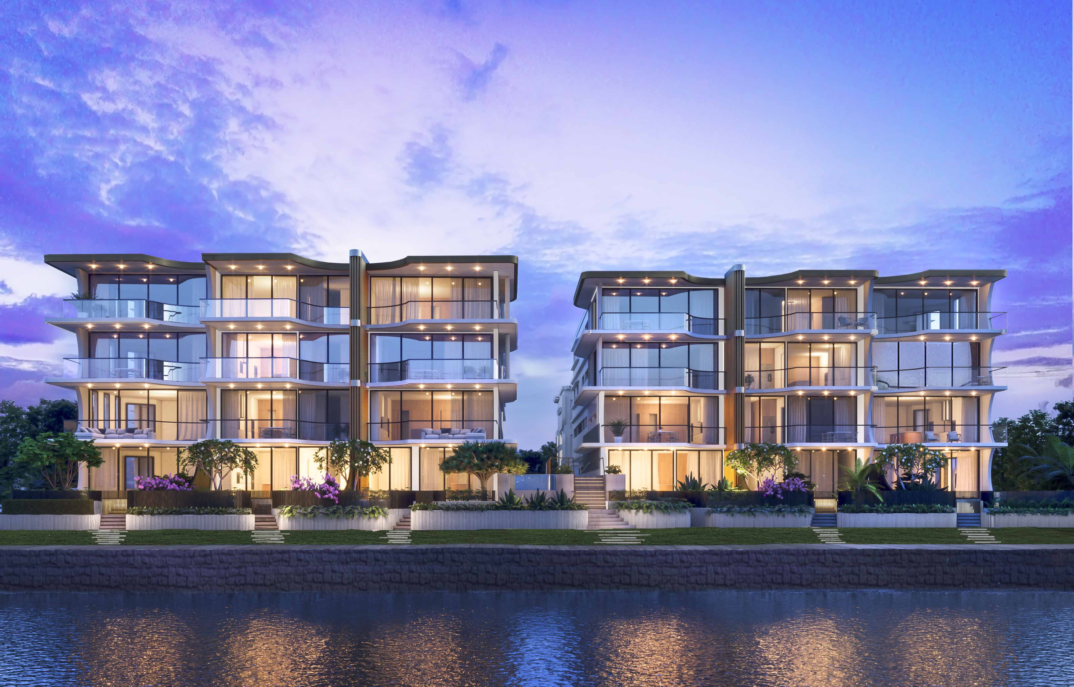 ONE Bulimba Riverfront Apartments Brisbane River