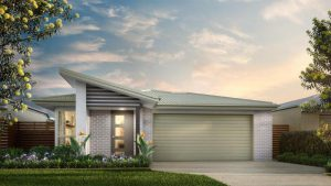 One of the House Designs at Silvan Rise