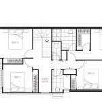 Parc Townhomes First Floor Plan (Standard)