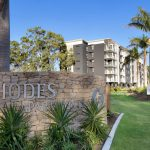 Rhodes Apartments Entry