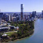 Brisbane Skytower location Brisbane Skyline