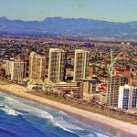 Surfers Paradise 1978, Image by Stephen Fleay.