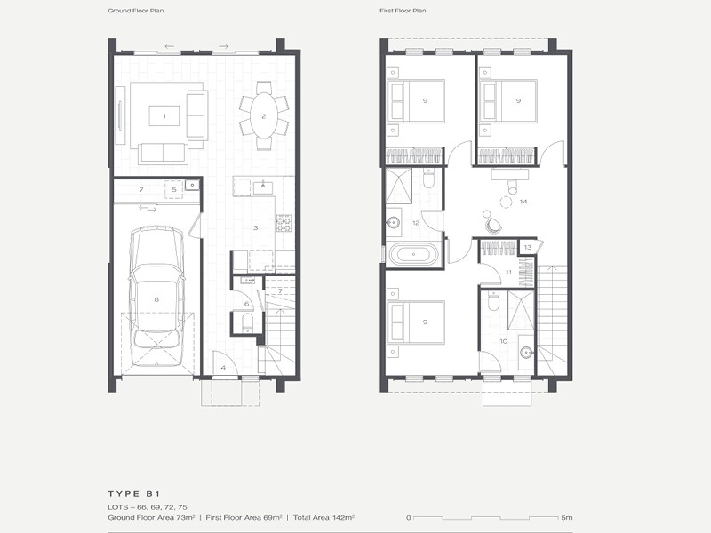 The Hills Residences Floor Plan B1