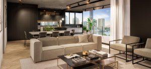 The Holman Living Room
