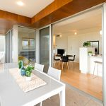 The Lumi Collection Canberra display suite balcony