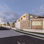 Vue Terrace Homes Entrance