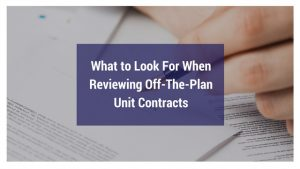 What To Look For When Reviewing Off The Plan Contracts