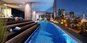 Bridges Apartments Brisbane - Podium Level Review