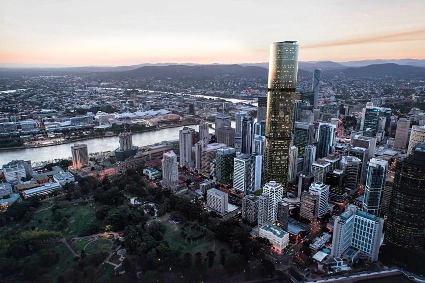 Skytower Brisbane Apartments